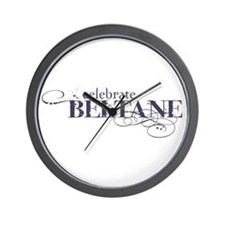 Beltane Wall Clock