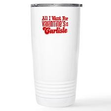 Carlisle Valentine Travel Mug