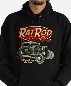 Rat Rod Speed Shop Hoodie (dark)