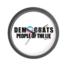 Anti-Politicians Wall Clock
