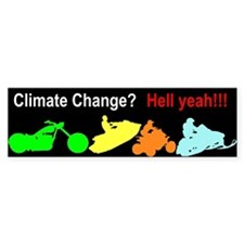 Enjoy Climate Change Bumper Bumper Sticker