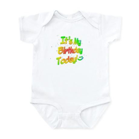 It's My Birthday Today! Infant Bodysuit