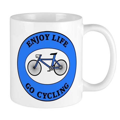 Enjoy Life Go Cycling Mug