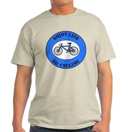 Enjoy Life Go Cycling Light T-Shirt