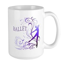 Ballet - scroll 2-sided Mug