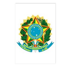 Brazil Coat of Arms Postcards (Package of 8)