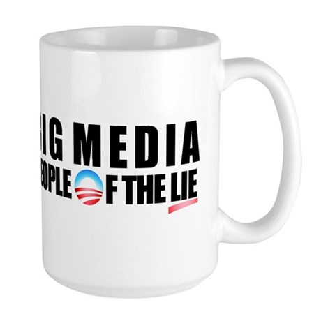 Anti-Politicians Large Mug
