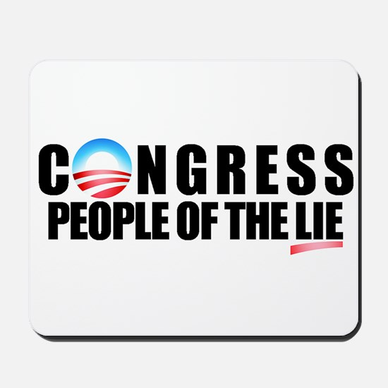 Anti-Politicians Mousepad