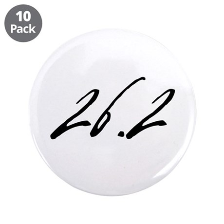 """26.2 3.5"""" Button (10 pack)"""