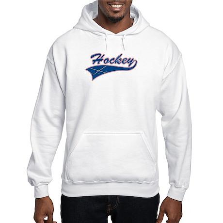 Vintage Hockey Hooded Sweatshirt