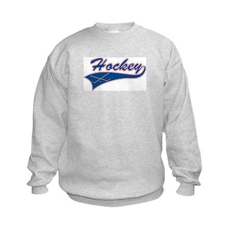 Vintage Hockey Kids Sweatshirt