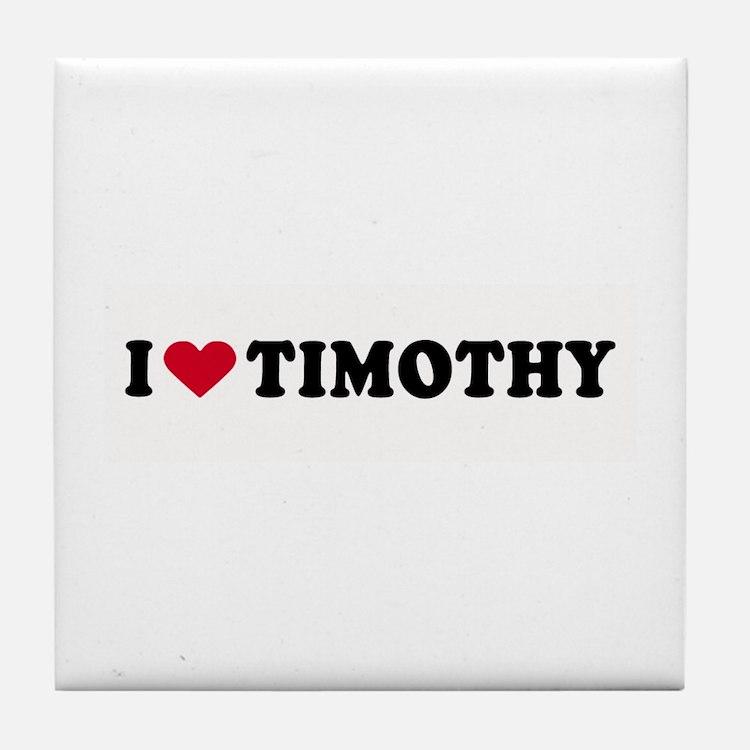 I LOVE BOYS ~ Tile Coaster