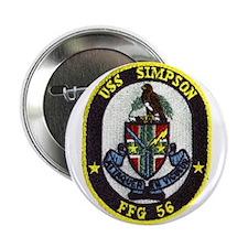 "USS SIMPSON 2.25"" Button"