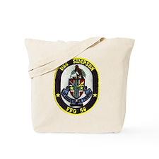USS SIMPSON Tote Bag