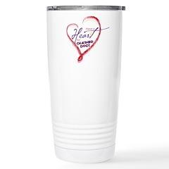 Valentine's 2010 Stainless Steel Travel Mug
