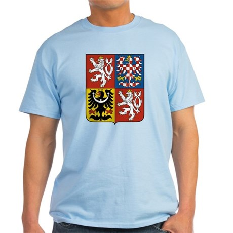 Czech Coat of Arms Light T-Shirt