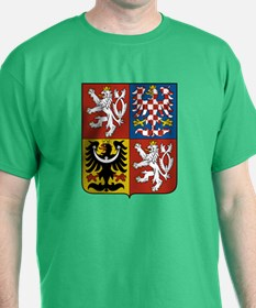 Czech Coat of Arms (Front) T-Shirt