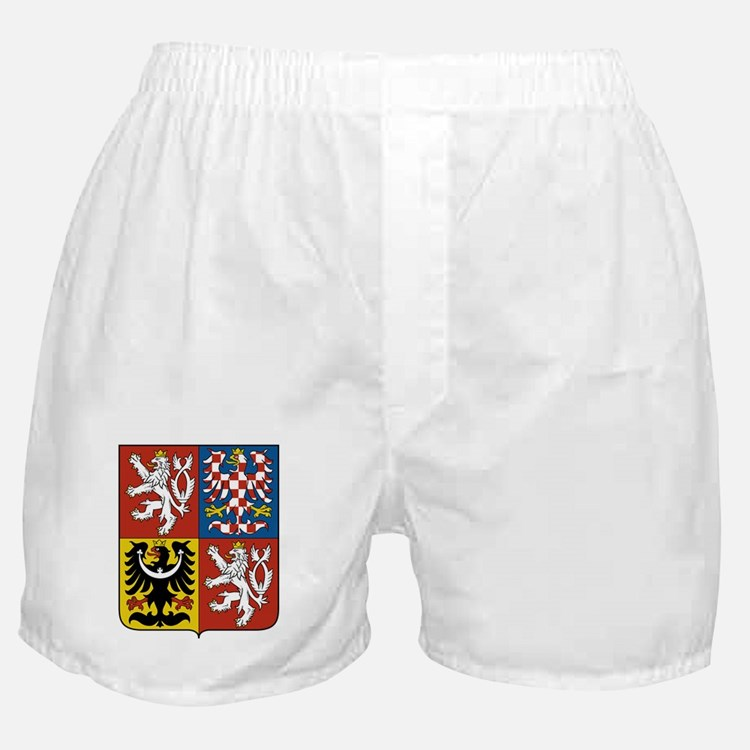 Czech Coat of Arms Boxer Shorts