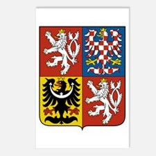 Czech Coat of Arms Postcards (Package of 8)