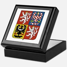 Czech Coat of Arms Keepsake Box