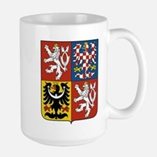Czech Coat of Arms Large Mug