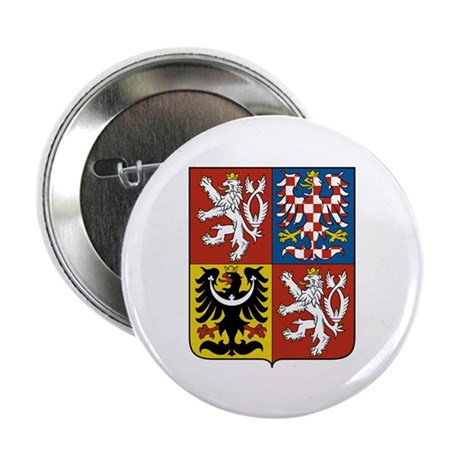 "Czech Coat of Arms 2.25"" Button (10 pack)"