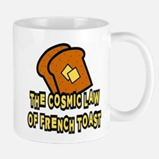 The Cosmic Law of French Toast Mug