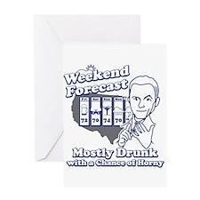 Weekend Forecast Greeting Card