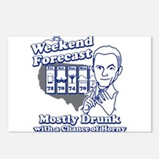Weekend Forecast Postcards (Package of 8)