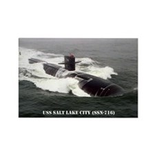 USS SALT LAKE CITY Rectangle Magnet