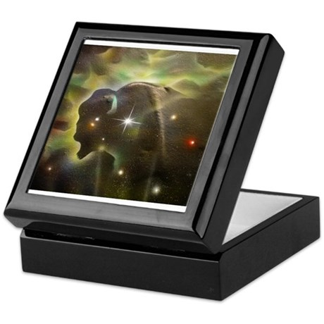 Buffalo Nebula Keepsake Box