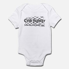 Crib Fighter Cage Onesie