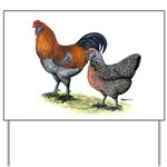 Ameraucana Poultry Yard Sign