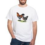 Ameraucana Poultry White T-Shirt