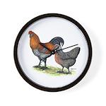 Ameraucana Poultry Wall Clock