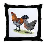 Ameraucana Poultry Throw Pillow