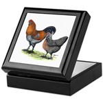 Ameraucana Poultry Keepsake Box