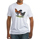 Ameraucana Poultry Fitted T-Shirt