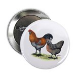 """Ameraucana Poultry 2.25"""" Button (10 pack)"""