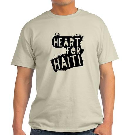 Heart For Haiti Light T-Shirt