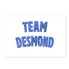 LOST Inspired TEAM DESMOND Postcards (Package of 8