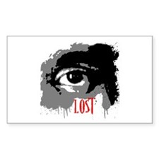 LOST TV Show Rectangle Decal