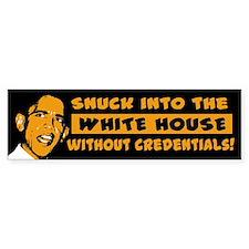 Obama Snuck In Bumper Bumper Bumper Sticker