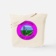 Enjoy Life Play Tennis Tote Bag
