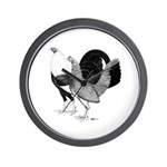 American Game Poultry Wall Clock