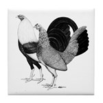 American Game Poultry Tile Coaster