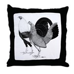 American Game Poultry Throw Pillow