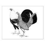 American Game Poultry Small Poster