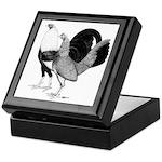 American Game Poultry Keepsake Box