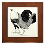 American Game Poultry Framed Tile